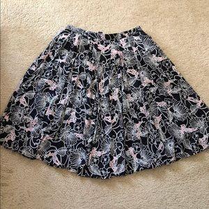 Club Monaco pleated skirt size 4